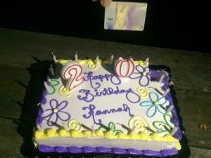 So feiert man doch gerne seinen Geburtstag :)